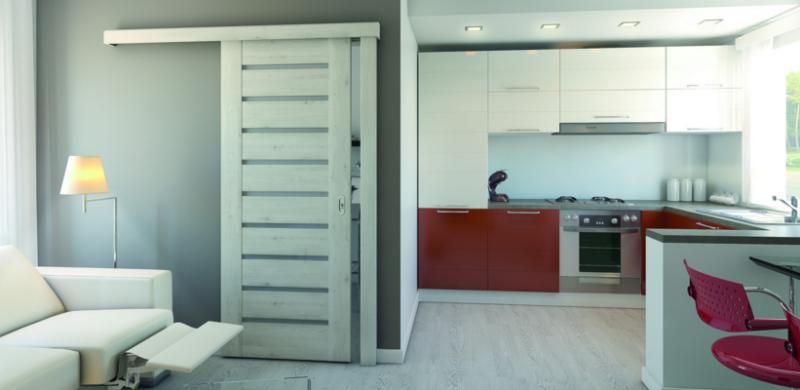 Drzwi przesuwne, drzwi łamane – nie tylko do małych pomieszczeń