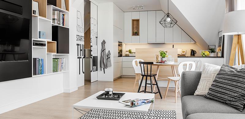 Salon z kuchnią – lepiej razem czy osobno?