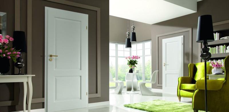 Białe drzwi wewnętrzne. Wybór i utrzymanie w czystości