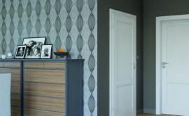 Dopasować kolor drzwi do podłogi, czy postawić na kontrast.