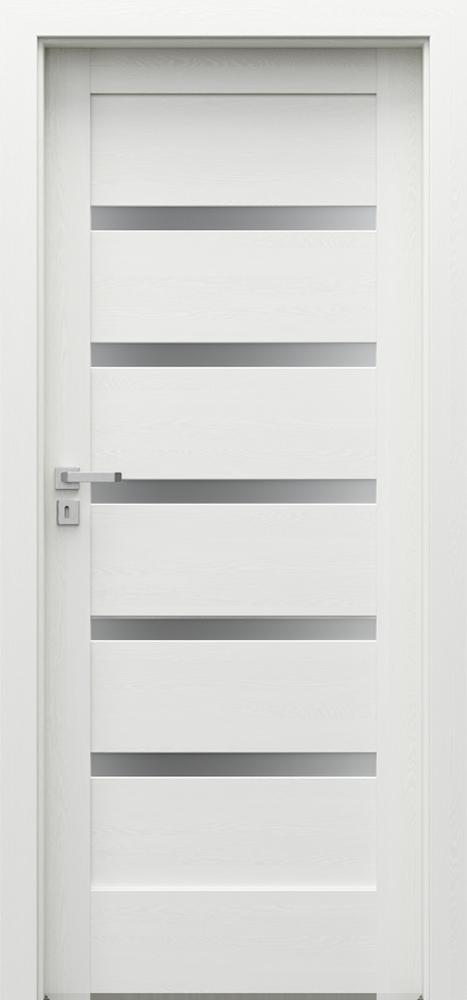 Drzwi Porta VERTE HOME, H H.5 Okleina Portadecor *** Biały - PORTA DRZWI