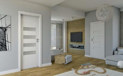 Interior doors Porta CONCEPT A.9 Portadecor veneer *** White Walnut