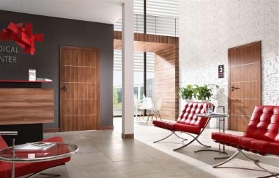 Drzwi wewnętrzne Porta LINE A.1 Okleina Portadecor *** Popielaty Euroinvest