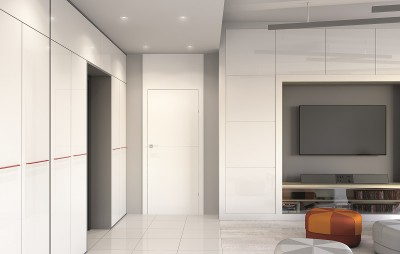 Interior doors Porta DESIRE model 2 Acrilic Paint UV **** White