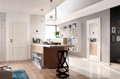 Drzwi wewnętrzne Porta GRANDE A.1 Farba Akrylowa UV ***** Biały