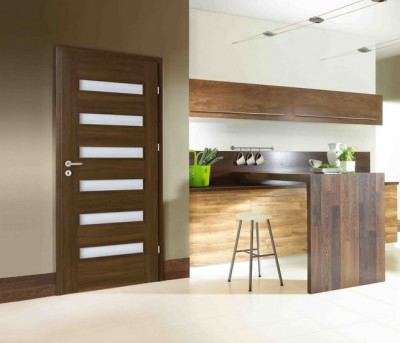 Interior doors Porta FIT H.4 Portasynchro 3D veneer *** Dark Oak