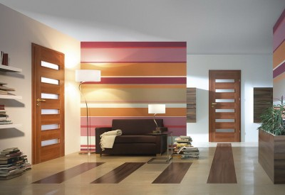 Interior doors Porta FIT F.5 Portadecor veneer *** Walnut Verona 2