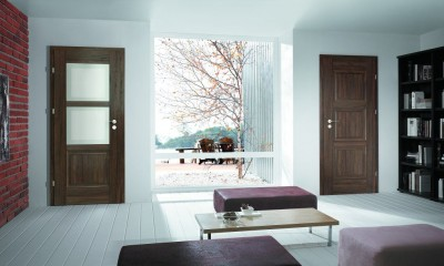 Drzwi wewnętrzne Porta INSPIRE C.2 Okleina Portasynchro 3D *** Dąb Szkarłatny