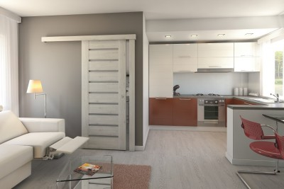 Interior doors Porta CONCEPT  Super Matt veneer *** White
