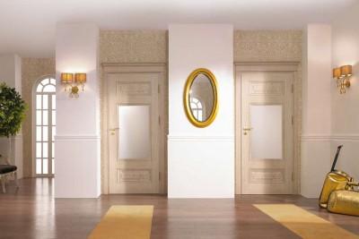 Drzwi wewnętrzne Villadora RETRO Residence 0 Okleina Naturalna Dąb Satin **** Dąb Biały