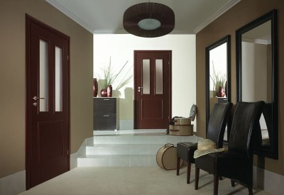 Interior doors Porta GRANDDECO 3.1 Portadecor veneer *** White Walnut