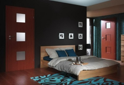 Interior doors Porta FIT A.6 CPL HQ 0.2 veneer ***** Concrete Dark