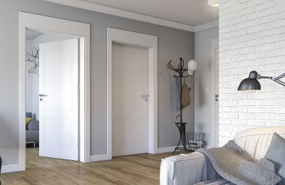 Interior doors Porta VECTOR  Premium varnish **** White
