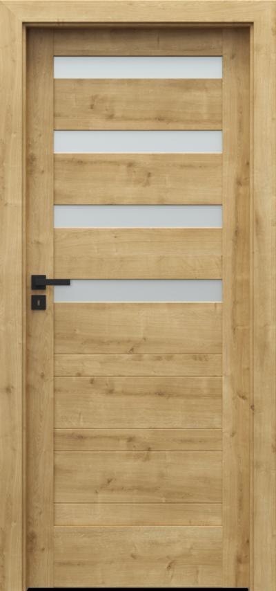 Drzwi wewnętrzne Porta VERTE HOME, D D.4 Portalamino**** Dąb Angielski Hamilton