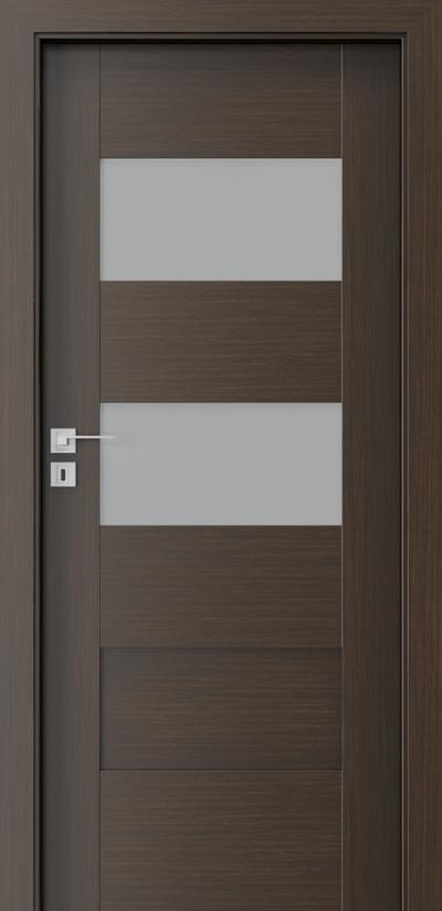 Drzwi wewnętrzne Porta KONCEPT K.2 Okleina Portadecor *** Wenge