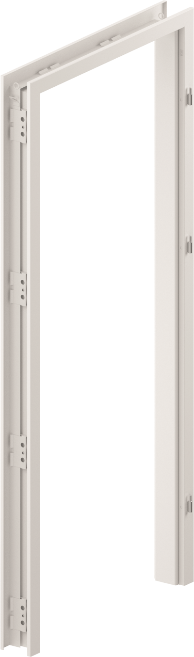 Stalowa Porta SYSTEM  Weiß MAT