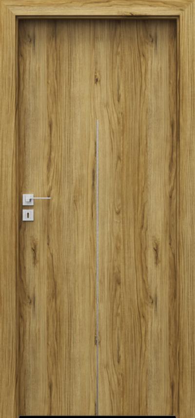 Drzwi wewnętrzne Porta LINE H.1 Okleina Portadecor *** Dąb Catania