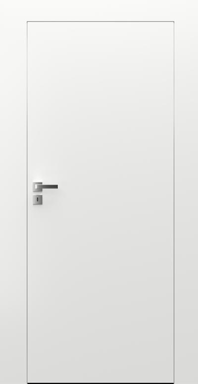 Interiérové dveře Porta HIDE   Bílá