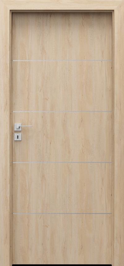Interior doors Porta LINE E.1 Portaperfect 3D veneer **** Scandinavian Beech