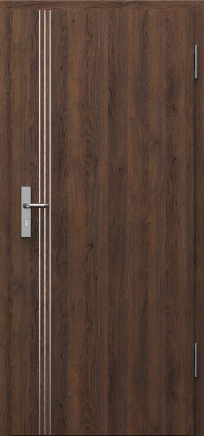 Drzwi techniczne INNOVO 37dB Intarsje 3 Gladstone