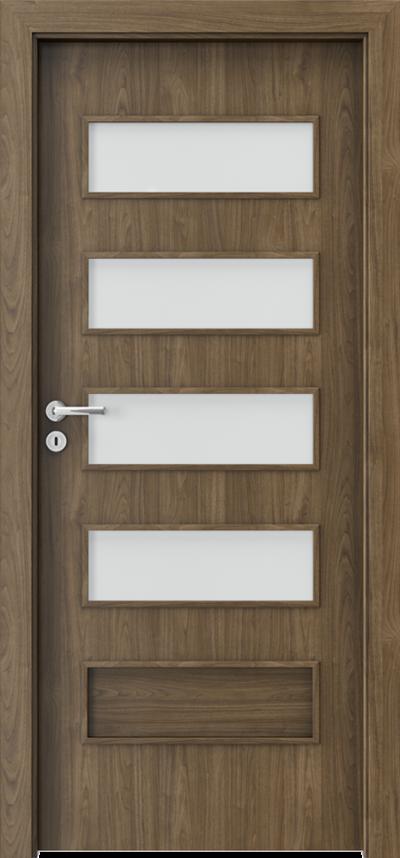 Drzwi wewnętrzne Porta FIT G.4 Okleina CPL HQ 0,2 ***** Orzech Naturalny (matowy)