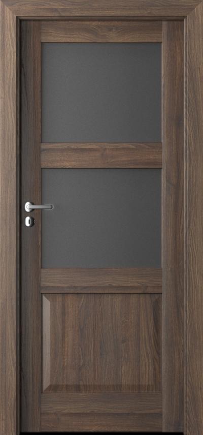 Drzwi wewnętrzne Porta BALANCE D.2 Okleina Portasynchro 3D *** Dąb Szkarłatny
