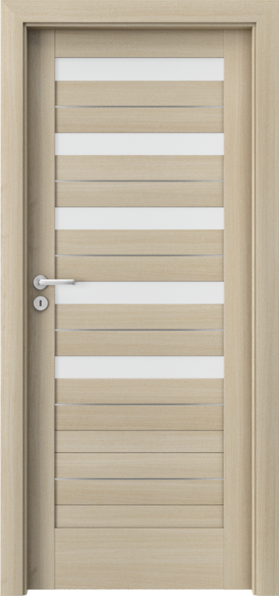 Drzwi wewnętrzne Porta VERTE HOME, D D.5 intarsje Okleina Portaperfect 3D **** Dąb Malibu