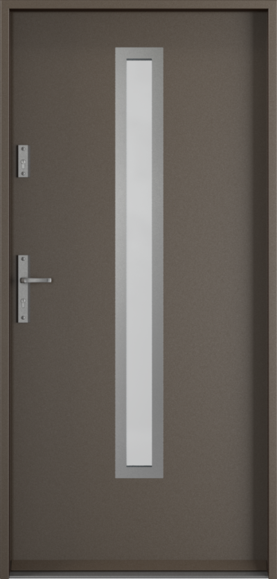 Drzwi wejściowe do domu Steel SAFE RC3 z Thermo B1