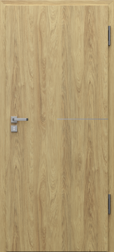 Drzwi techniczne Porta SILENCE 37 dB intarsje 8