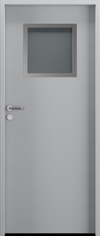 Drzwi techniczne Steel SOLID 2