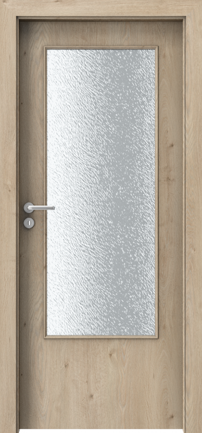 Drzwi wewnętrzne Porta DECOR D Okleina Portaperfect 3D **** Dąb Klasyczny
