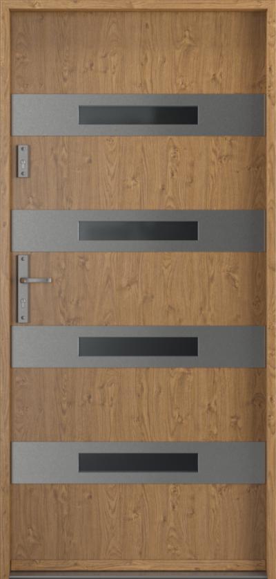 Drzwi wejściowe do domu Steel SAFE RC3 z Thermo F1