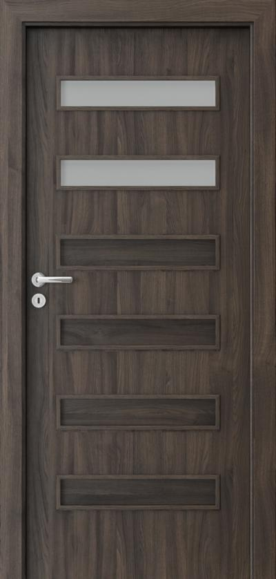Interior doors Porta FIT F.2 Portasynchro 3D veneer *** Dark Oak
