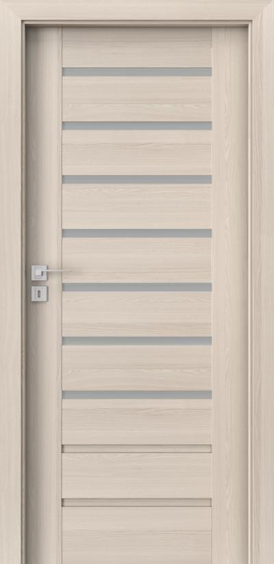 Drzwi wewnętrzne Porta KONCEPT A.7 Okleina Portadecor *** Orzech Bielony