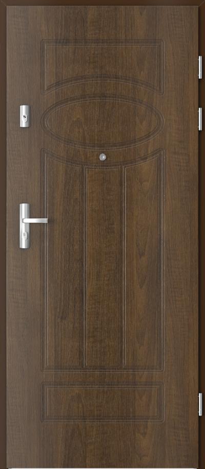 Drzwi wejściowe do mieszkania KWARC frezowane model 4