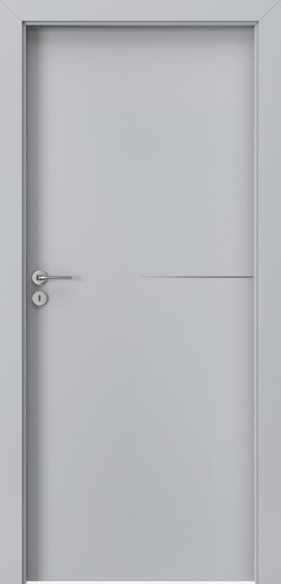 Drzwi wewnętrzne Porta LINE G.1 Okleina Portadecor *** Popielaty Euroinvest