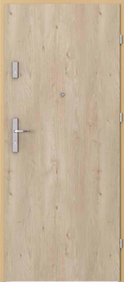 Drzwi wejściowe do mieszkania OPAL Plus pełne