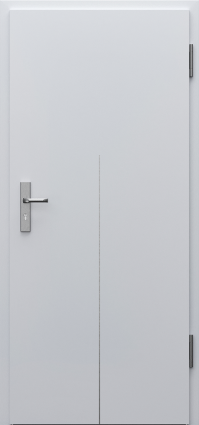 Drzwi techniczne INNOVO 37 dB Intarsje 9 Okleina CPL HQ 0,7 ****** Popielaty Euroinvest