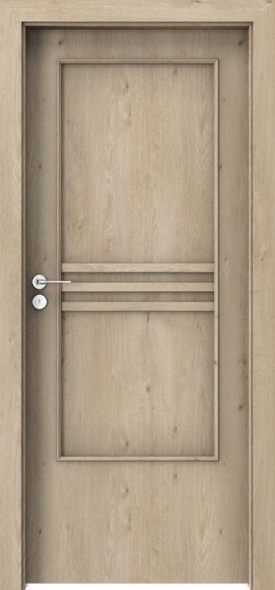 Drzwi wewnętrzne Porta STYL 3 z panelem Okleina Portaperfect 3D **** Dąb Klasyczny