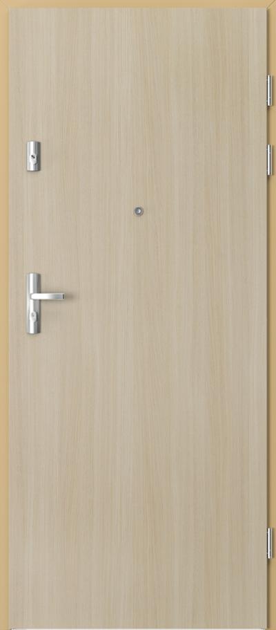 Drzwi wejściowe do mieszkania KWARC pełne Okleina Portaperfect 3D **** Dąb Malibu