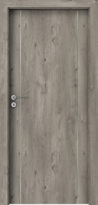 Drzwi wewnętrzne Porta LINE A.1 Okleina Portaperfect 3D **** Dąb Syberyjski