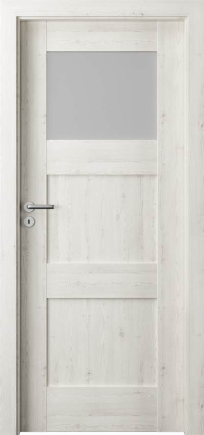Drzwi wewnętrzne Porta VERTE PREMIUM, B B.1 Okleina Portasynchro 3D *** Sosna Norweska
