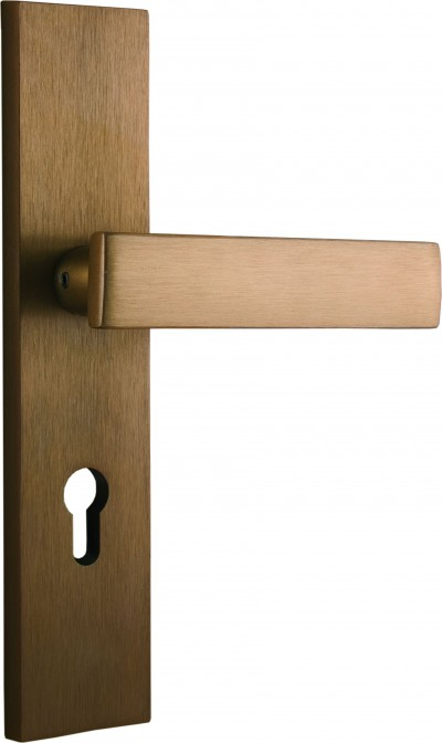Complementary products – Accessories for doors AGATE brown with lever handle
