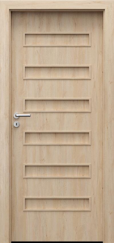 Drzwi wewnętrzne Porta FIT F.0 Okleina Portaperfect 3D **** Buk Skandynawski