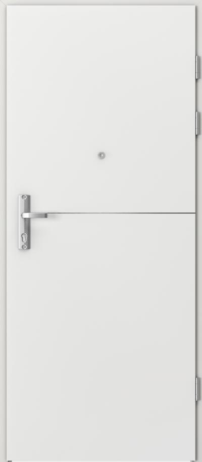 Drzwi wejściowe do mieszkania EXTREME RC3 intarsje 7 Okleina CPL HQ 0,2 ***** Biały