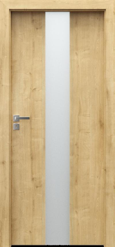 Drzwi wewnętrzne Porta FOCUS 2.0 szyba matowa Portalamino**** Dąb Angielski Hamilton