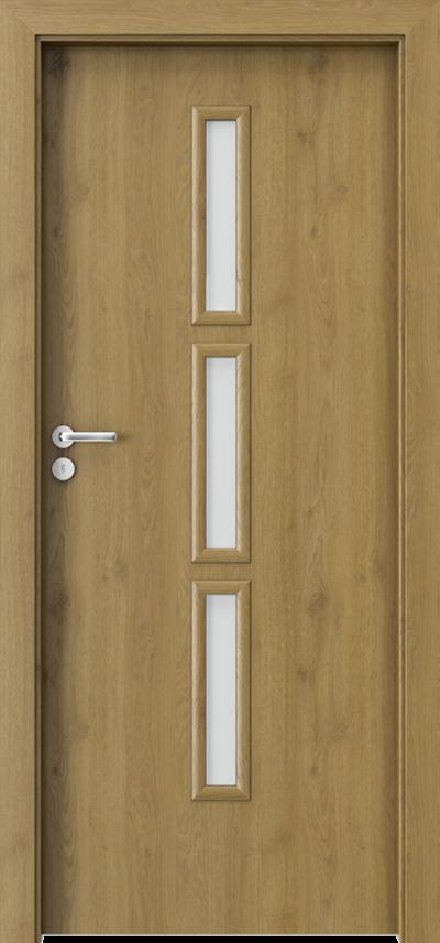 Drzwi wewnętrzne Porta GRANDDECO 5.2 Okleina Portaperfect 3D **** Dąb Naturalny