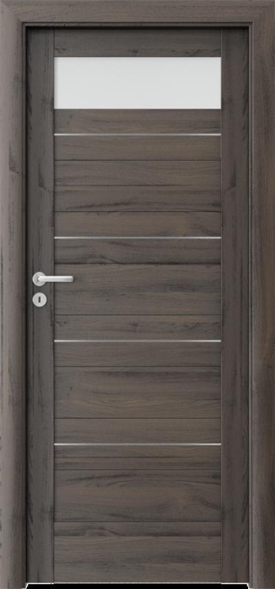 Drzwi wewnętrzne Porta VERTE HOME C.1 intarsje