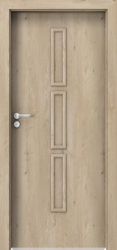 Drzwi wewnętrzne Porta GRANDDECO 5.1 Okleina Portaperfect 3D **** Dąb Klasyczny