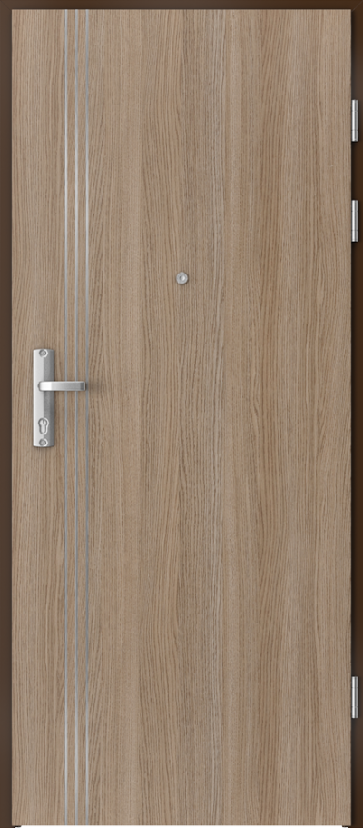 Drzwi wejściowe do mieszkania EXTREME RC3 intarsje 3